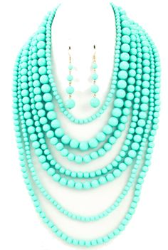 Audrey - Turquoise | THE LUCKY KNOT