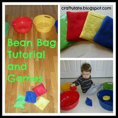 Craftulate: Bean Bag Tutorial