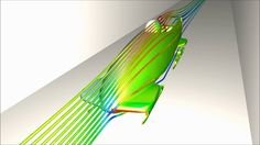 Bobsled Simulation using Software Cradle
