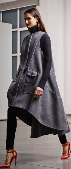 Street style for Fall Chic.,.Antonio Berardi Pre-Fall 2014