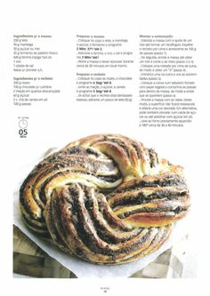 I Companion, Portuguese Recipes, How To Make Bread, Bakery, Food And Drink, Pork, Cooking, Sweet, Kitchen