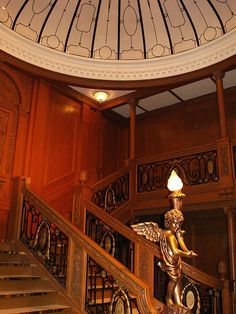 The Grand Staircase at the Titanic Exhibit
