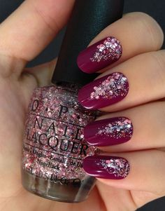 35 Latest Burgundy Nail Designs For 2017 - Reny styles