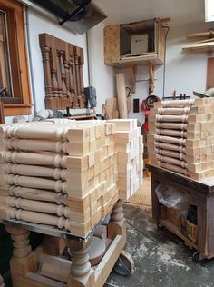 It was a busy week turning spindles. Turning, Wood, Woodwind Instrument, Timber Wood, Trees, Wood Turning
