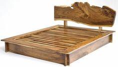 naturholzmöbel massivholz massivmöbel design bett gestell