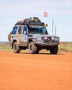 Our mighty research vehicle has been all over Australia in 2016 - who'd love to take it for a spin? #hemamaps #australia #seeaustralia #outback #outbackaustralia #offroad #offroading #overland #overlanding #4wd #4x4 #4x4life #4wheeling #landcruiser #lc76 #landcruiser76 #toyota4x4
