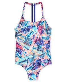 Roxy Retro Summer One Piece Swimsuit, Big Girls - Pink Cheap Swimsuits, Retro Summer, Halter Bikini, Roxy, One Piece Swimsuit, Bikinis, Swimwear, Bathing Suits, Sporty