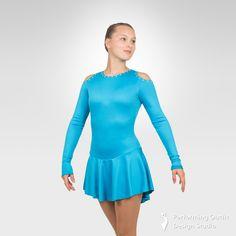Jazzy figure skating long sleeve dress - Performing Outfit Design Studio Store Gymnastics Outfits, Gymnastics Leotards, Latin Ballroom Dresses, Ice Skating Dresses, Figure Skating, Dance Costumes, New Product, Skate, Studio