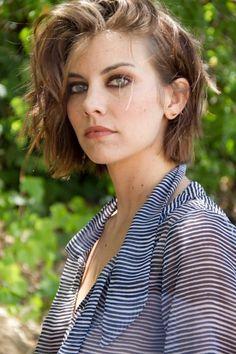 Lauren Cohan as Maggie Greene Lauren Cohan, Best Bob Haircuts, Maggie Greene, Celebs, Celebrities, Mi Long, Most Beautiful Women, Beautiful Actresses, Cute Hairstyles