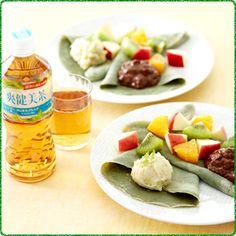 石坂優子さんのボタニカルレシピ 第3回目「オシャレ女子の素敵スイーツ ヨモギ入りガレットと2種のボタニカルクリーム」