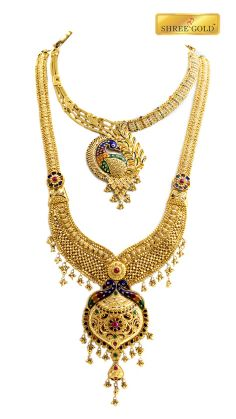 Marvelous peacock pendant in a beautiful necklace with unique stone works..like it for your friends..