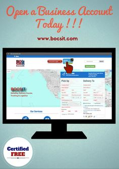 Open an account with bocsit, it makes it much more convenient to order your service, track deliveries and have a record of past transactions. Try it , it's free.#SameDayCourier http://www.bocsit.com