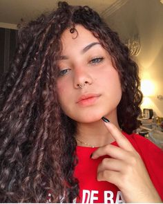 Types Of Curls, Beautiful Little Girls, Queen Hair, Perfect Curls, Aesthetic Girl, Braid Styles, Textured Hair, Girl Pictures, Pretty People