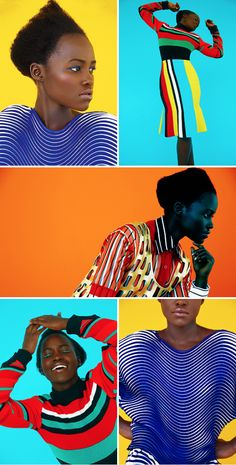 Lupita Nyong'o photographed by Erik Madigan Heck for The Guardian ☆ December 2015