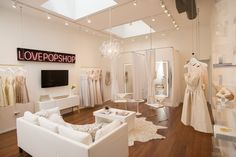 A Peek Inside A Luxe, Feminine Bridal Salon Designed On A Start-Up Budget | Decorist Blog | see more at: https://www.decorist.com/blog/a-peek-inside-a-luxe-feminine-bridal-salon-designed-on-a-start-up-budget/?utm_source=Iterable&utm_medium=email&utm_campaign=weddington-way-bridal-showroom-makeover