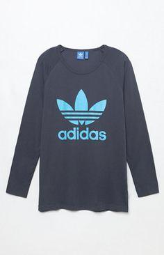 Trefoil Long Sleeve Raglan T-Shirt