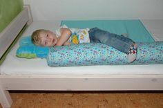 Loonie - Der kuschelige Rausfallschutz fürs Bett. - So funktionierts
