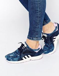 Agrandir Adidas Originals - Racer Lite - Baskets imprimées - Bleu marine