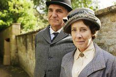 Mrs Elsie Hughes Phyllis Logan Mr Charles Carson Jim Carter Downton Abbey Series Season 5