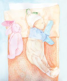 Vauvailoa, 2014 on Behance Book Gifts, Illustration Art, Illustrations, Cute Gifts, New Baby Products, Verses, Original Paintings, Bunny, My Arts