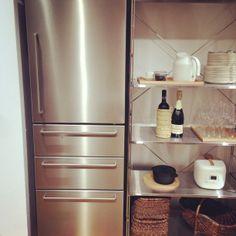 MUJI 冷蔵庫 ステンレス