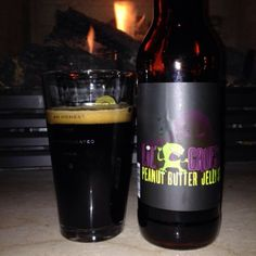 Lil' Gruesome Peanut Butter Jelly Stout---DELISH.