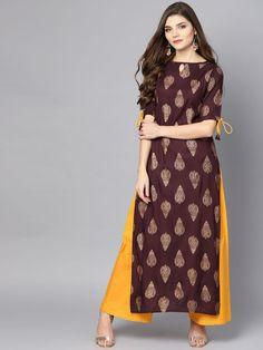 Buy Be Indi Women Pink Solid Straight Kurti – Kurtis-for-Women 9643535 Silk Kurti Designs, Simple Kurta Designs, Kurta Designs Women, Kurti Designs Party Wear, Stylish Dress Designs, Stylish Dresses, Dress Indian Style, Indian Fashion Dresses, Indian Designer Outfits