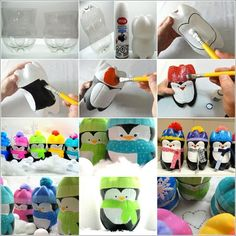 manualidades faciles de hacer con botellas de plástico