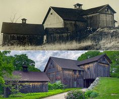 It would be so cool to turn an old barn into a house...expensive maybe...but very cool.