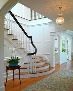 Batten Board In Stair Design Ideas, Pictures, Remodel and Decor