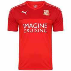 Swindon Town FC - 2016/17 Home Shirt.