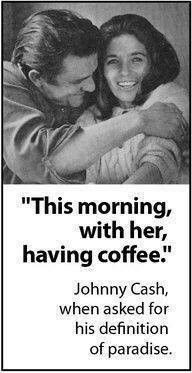 Coffee with Johnny Cash & June Carter Cash