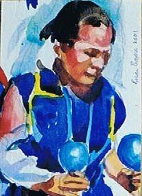 Brian Baxter: Navaho Woman Navajo Women, Woman, People, Painting, Art, Art Background, Painting Art, Paintings, Kunst