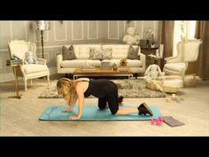Фитнес для беременных с Трейси Андерсон. 4-й месяц - YouTube