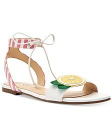 a831d09fc9f4 Katy Perry Rita Mojito City Lucite Heel Sandals Shoes - Sandals - Macy s