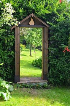 Garden doorway