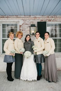 Cozy Irish Knit Wedding Sweaters
