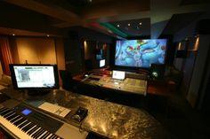 Icon room Studio Room Design, Home Studio, Recording Studio, Simple House, Studios, Rooms, Space, Gallery, House Studio