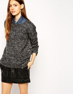 ASOS Jumper In Slouc