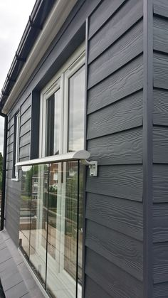 Fibre cement Cedral Weatherboard external cladding is the ideal low maintenance House Cladding, Timber Cladding, Fibre Cement Cladding, Cladding Ideas, Shiplap Cladding, Fiber Cement Siding, Bungalow Extensions, House Extensions, Exterior Siding