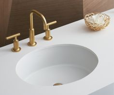 the conical bell vessel bathroom sink with gilded meadow design ... - Kohler Archer Lavabo Con Piedistallo