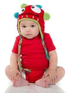 Monster Hats for your little monster