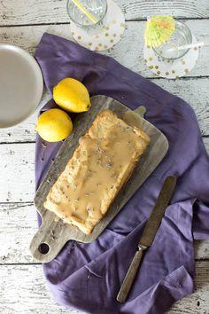 Lemon & Lavender 'Yogurt' Cake (lactose-free, gluten-free, vegan optional)