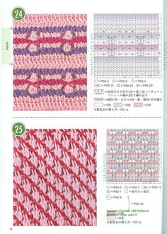 Tunisian Crochet Patterns   tunisian crochet 100 patterns 014 780785 jpg crochet tunisiano
