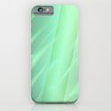 phone cases and phone skins abstract lightgreen by Christine Baessler