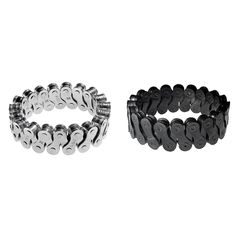 BIKE CHAIN CUFF BRACELETS | Bicycle Chain Metal Wristband Bracelet | UncommonGoods