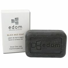 Edom Black Mud Soap >>> Find out more about the great product at the image link. Nerd, Spa, Work Hairstyles, Online Pharmacy, Skin Care Treatments, Face Cleanser, Face Care, Apple Tv, Beauty Secrets