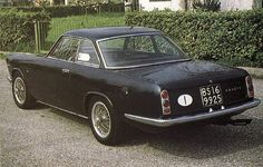 1964 Fiat Abarth 2400 Coupé Allemano.