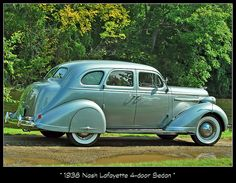 1938 Nash Lafayette 4-Door Sedan