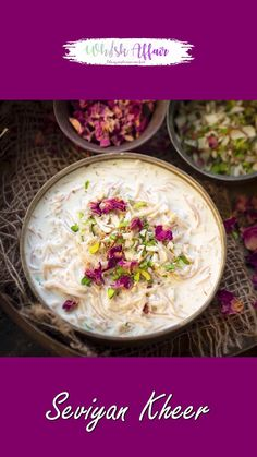 Sweet Dishes Recipes, Spicy Recipes, Vegetarian Recipes, Cooking Recipes, Vermicelli Recipes, Vermicelli Kheer Recipe, Indian Dessert Recipes, Indian Sweets, Indian Recipes